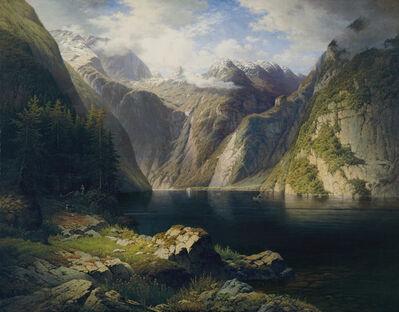 Dániel Somogyi, 'View of Königssee', 1878