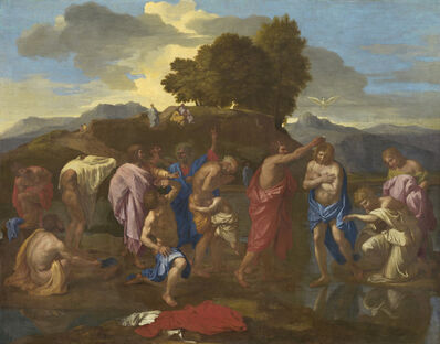 Nicolas Poussin, 'The Baptism of Christ', 1641/1642