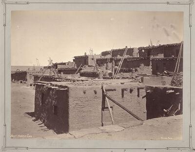 John K. Hillers, 'West Front of Zuni [Pueblo]', 1879