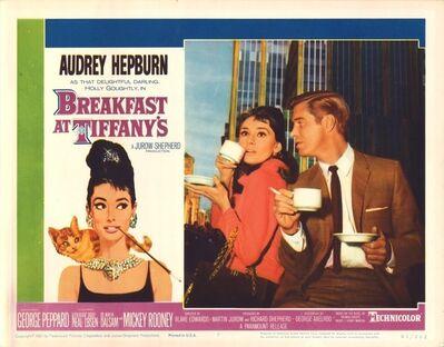 Film Poster, 'Breakfast at Tiffany's', 1961