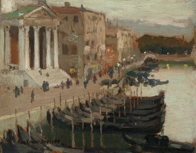 George Elmer Browne, 'Evening in Venice'