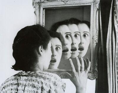 Grete Stern, '¿Quién será?, Sueños # 7, de la série Los sueños del espejo, Idilio n° 17', 1949