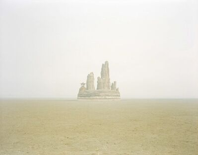 Zhang Kechun, 'A Rockery in the Middle of a Dry Lake, Shandong', 2011