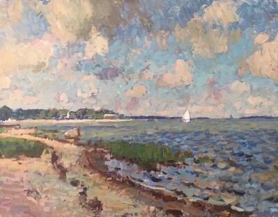 Ben Fenske, 'Secret Beach Sailing', 2017