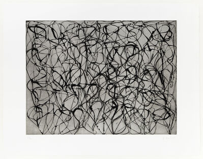 Brice Marden, 'Zen Study #3 from Cold Mountain Series', 1991