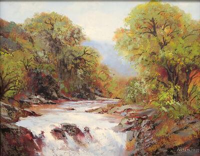 José Castro, 'The river', 1992