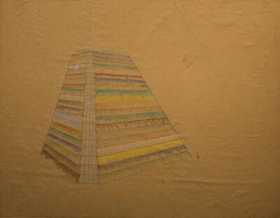 Tery Fugate-Wilcox, 'Coloring concrete cone', 1980