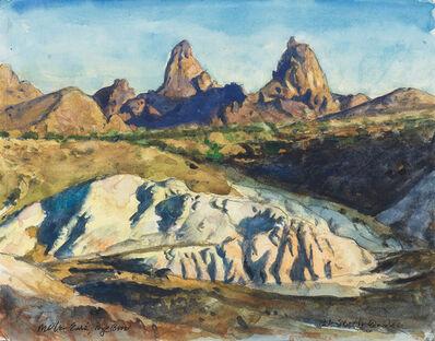 Bob Stuth-Wade, 'Mule Ears, Big Bend', 2016