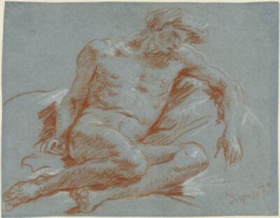 Giambattista Tiepolo, 'Seated Male Nude', 1752/1753
