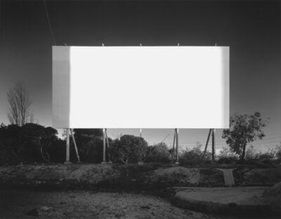Hiroshi Sugimoto, 'Stadium Drive-in, Orange', 1993