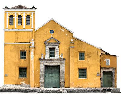 Antonio Castañeda, 'Iglesia de la Santisima Trinidad, color archival pigment print, panoramic', 2017