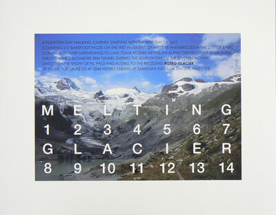 Hamish Fulton, 'Melting Glacier', 2005