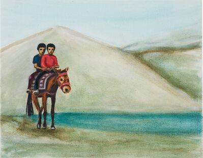 Matthew Krishanu, 'Two Boys on a Horse', 2018
