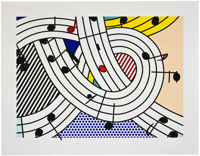 Roy Lichtenstein, 'Composition II', 1996