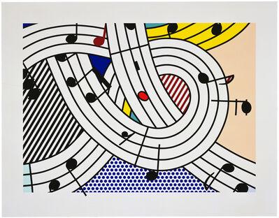 Roy Lichtenstein, 'Composition II', 1996