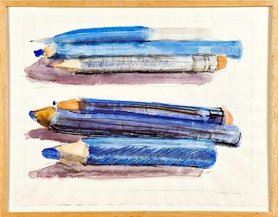 Grace Knowlton, 'Untitled (Colored Pencils)', 1978