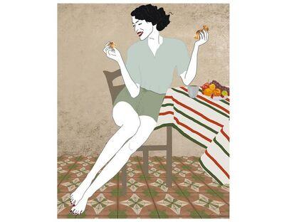 Cristina Torrecilla, 'Sunday Morning Croissant', 2018