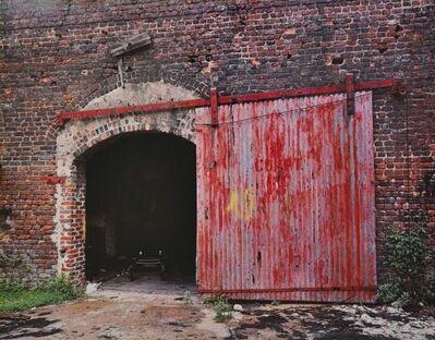William Christenberry, 'Door of Cotton Warehouse, Selma, Alabama, 1979', 1979
