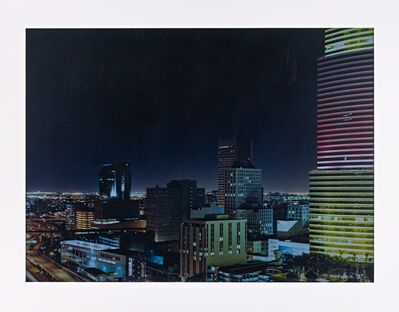 Axel Hütte, 'Miami, Bank of America', 2006