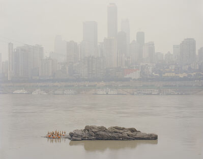 Zhang Kechun, 'Stone in the Middle of the River', 2014