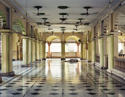 Laura McPhee, 'Sleeper, Prayer Hall, Nakhoda Mosque, North Kolkata', 2013