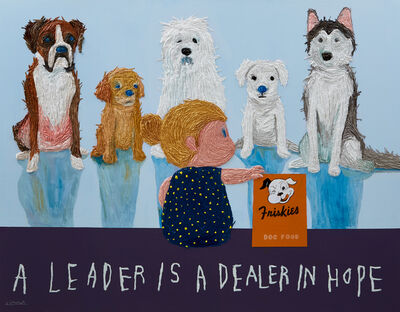 Woo Kuk Won, 'Leader -dog-', 2019