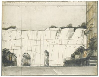 Christo and Jeanne-Claude, 'The Wall 1974 - Project for A Wrapped Roman Wall Porta Pinciana Delle Mura Aureliane', 1974