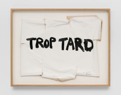 Thierry Geoffroy /COLONEL, 'TROP TARD, 14th July, 2016', 2016