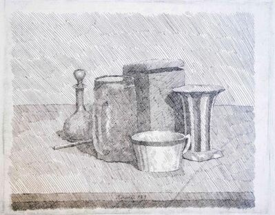 Giorgio Morandi, 'Still Life With Coffee Cup And Carafe', 1929