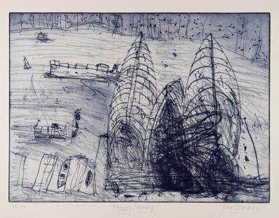 John Olsen (b.1928), 'Foggy Morning', 2002