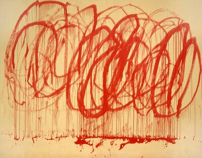 Cy Twombly, 'Untitled (Bachus)', 2005