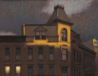 Harvey Dinnerstein, 'Sunset Reflections, Flatbush Avenue', 2013