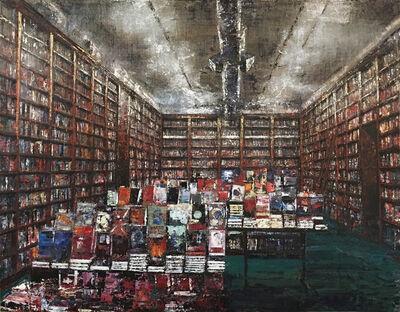 Massimo Giannoni, '(GVA) Biblioteca', 2017