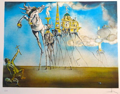 Salvador Dalí, 'La Tentation de Saint Antoine', Not dated