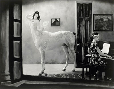 Joel-Peter Witkin, 'Night in a Small Town, New Mexico', 2007