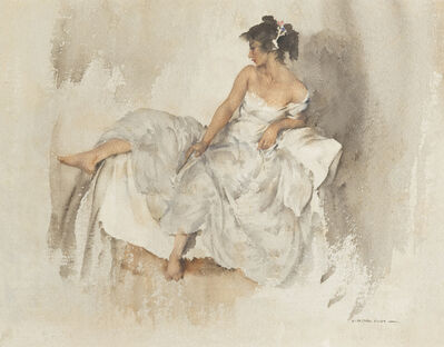William Russell Flint, 'Cecilia', 1961