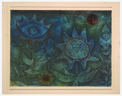 Paul Klee, 'Blüten in der Nacht (Blossoms in the Night)', 1930