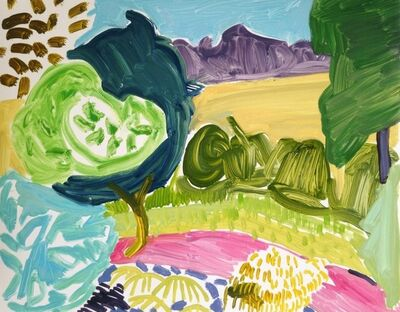 Kimia Ferdowsi Kline, 'Tree Study (London)', 2015