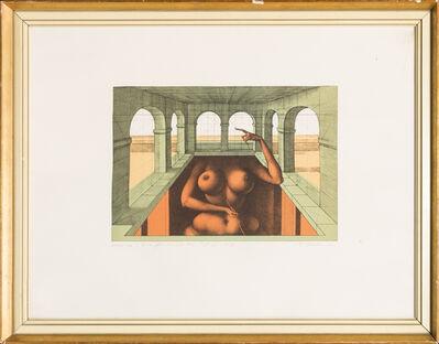 Rudolf Hausner, 'Eva fundamental 127/300', 1972