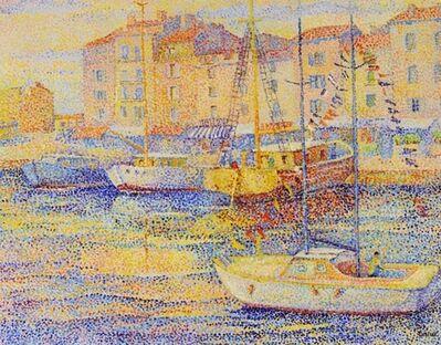 Yvonne Canu, 'Barques à Saint-Tropez ', ca. 2000