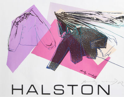 Andy Warhol, 'Halston Advertising Campaign: Women's Wear', 1982