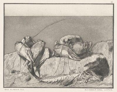 Max Klinger, 'Siesta I: pl.3', 1879