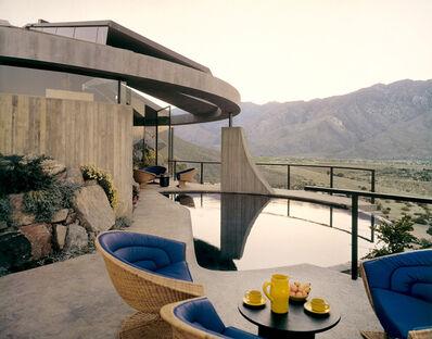 Leland Y. Lee, 'Elrod House - Cool Dip', 1968