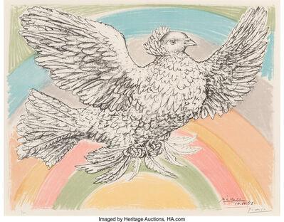 Pablo Picasso, 'Le Colombe Volant (à lArc-en-Ciel)', 1952