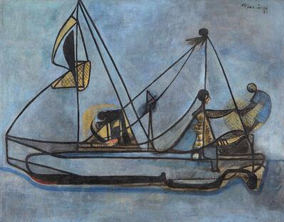 Mariano Rodriguez, 'Bote de Pescadores', 1951