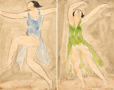 Abraham Walkowitz, 'Isadora Duncan'