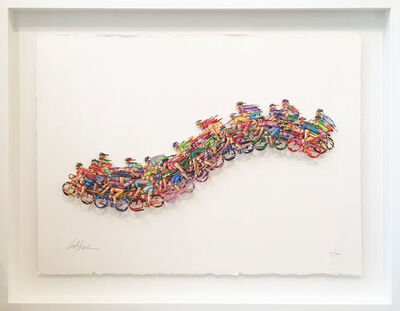 David Gerstein, 'Peloton Wave', 2009
