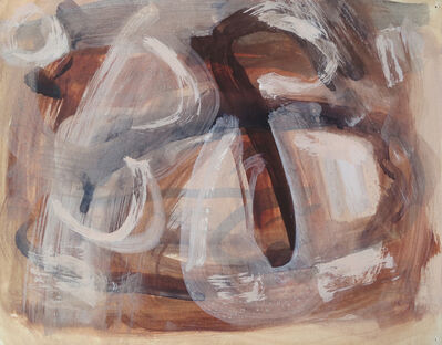 Ralph Wickiser, 'Abstract', late 1940's