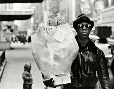 Frank Paulin, 'Flower Messenger, Times Square', 1955