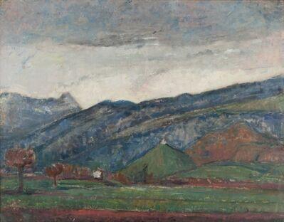 Arturo Tosi, 'Paesaggio collinare', 1929